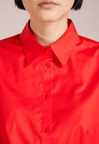 HUGO - ETRIXE - Button-down blouse - medium red - 5
