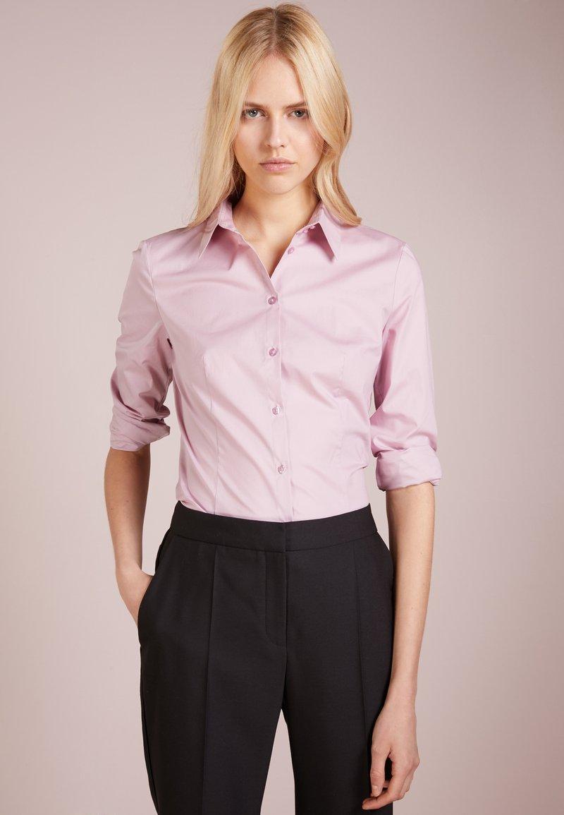 HUGO - ETRIXE - Skjortebluser - dark pink