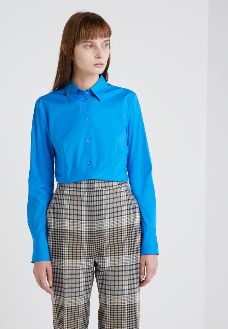 HUGO - ETRIXE - Skjortebluser - open blue