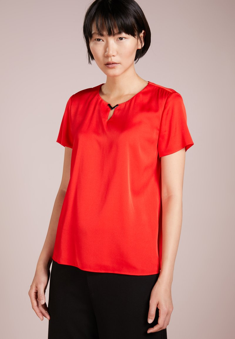 HUGO - CELANY - Bluse - open red