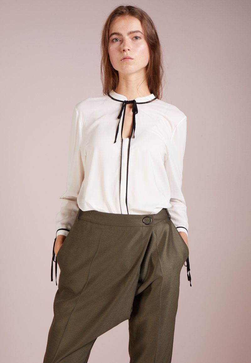 HUGO - ENELA - Button-down blouse - natural