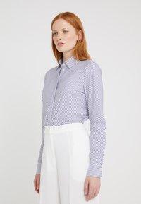 HUGO - ELIFIA - Button-down blouse - dark blue - 0