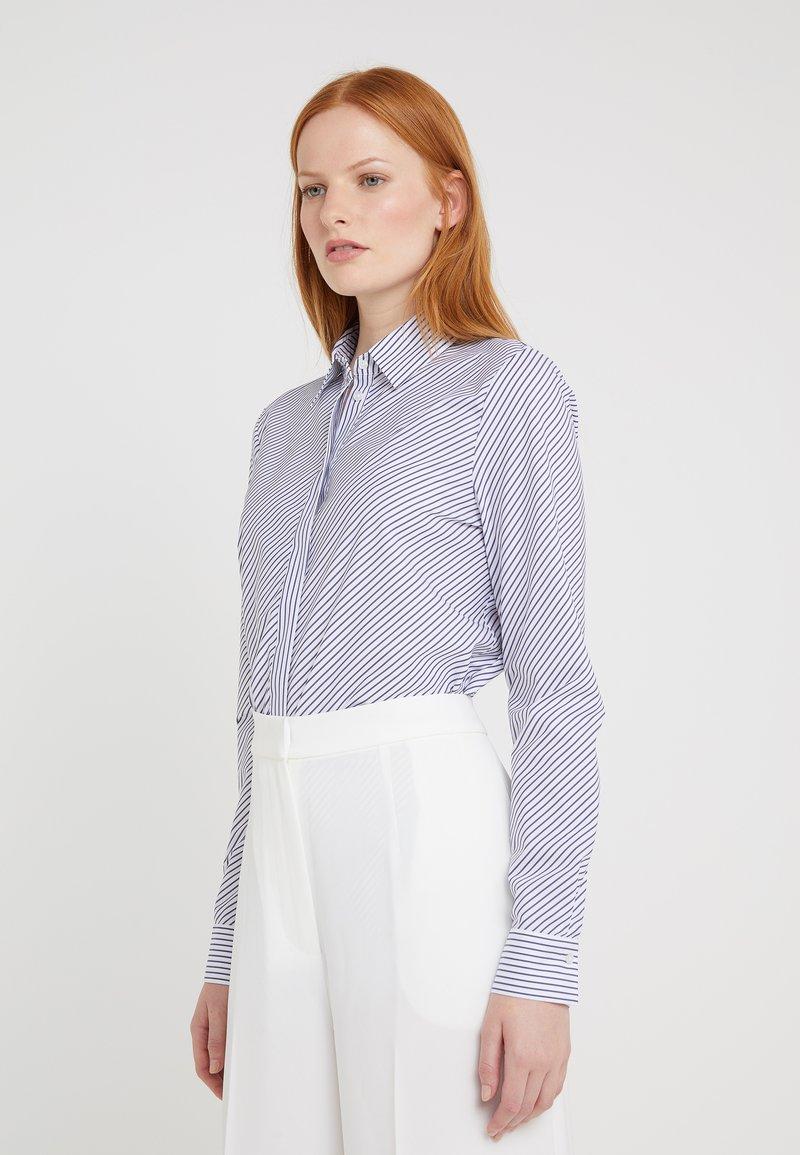 HUGO - ELIFIA - Button-down blouse - dark blue