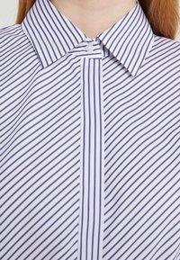 HUGO - ELIFIA - Button-down blouse - dark blue - 5
