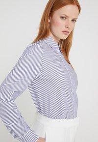 HUGO - ELIFIA - Button-down blouse - dark blue - 3
