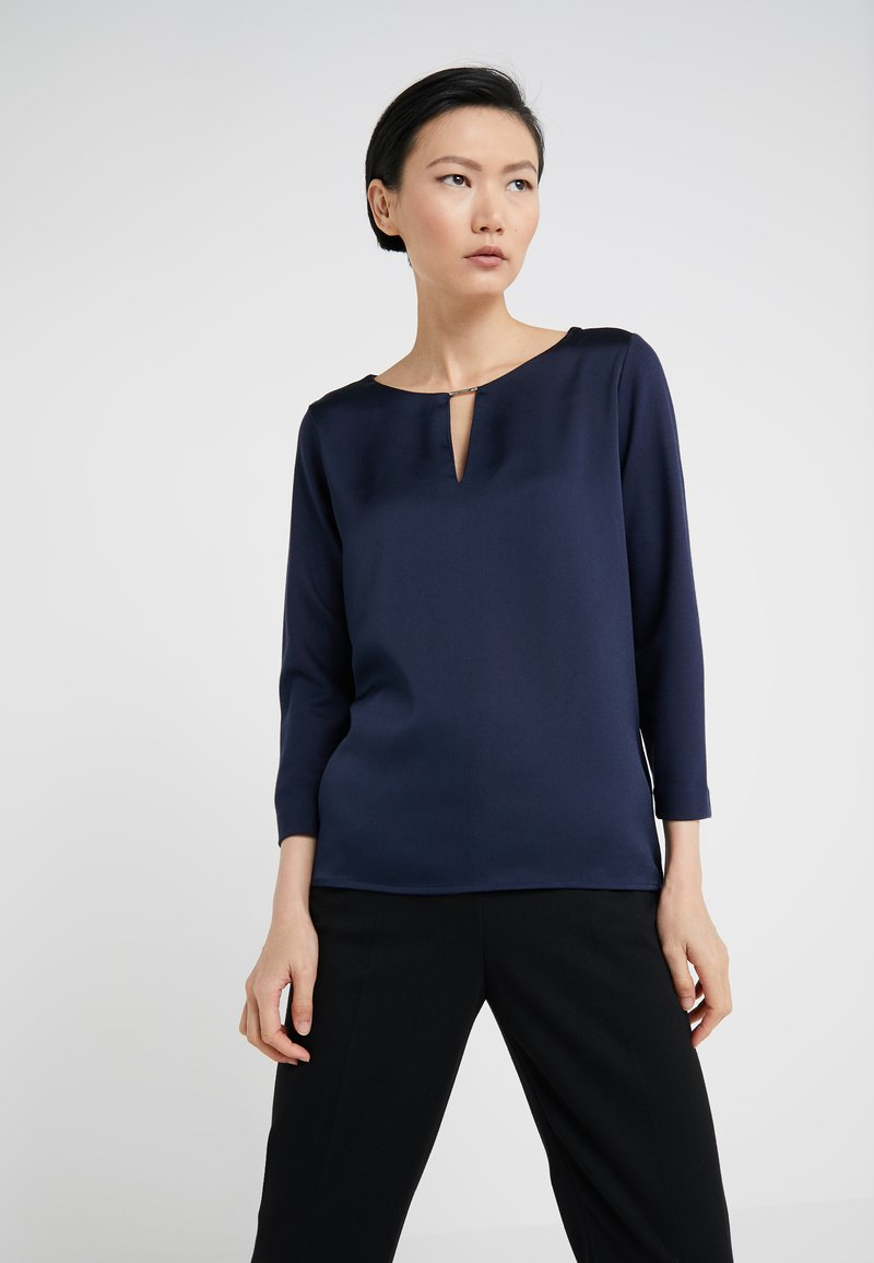 HUGO - DIBILLE - Bluse - open blue