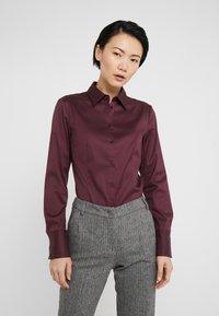 HUGO - THE FITTED - Skjorte - medium red - 0