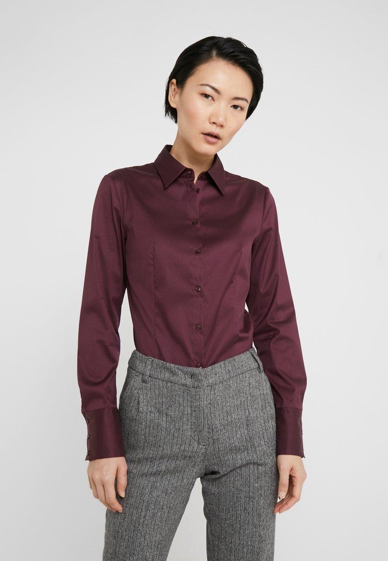 HUGO - THE FITTED - Skjorte - medium red
