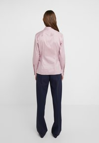 HUGO - THE FITTED - Button-down blouse - dark pink - 2