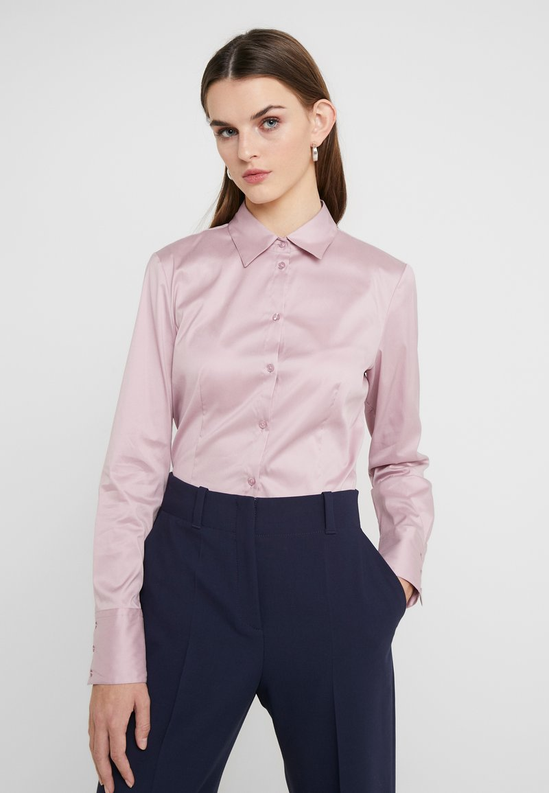 HUGO - THE FITTED - Overhemdblouse - dark pink