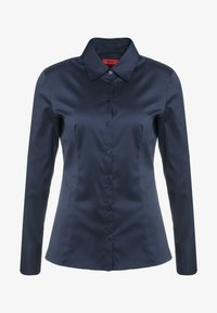 HUGO - THE FITTED - Button-down blouse - navy - 4