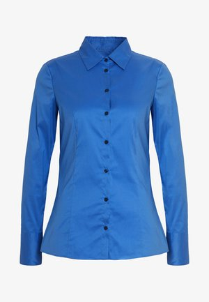 THE FITTED - Button-down blouse - bright blue