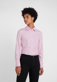 HUGO - THE FITTED SHIRT - Button-down blouse - open red - 0