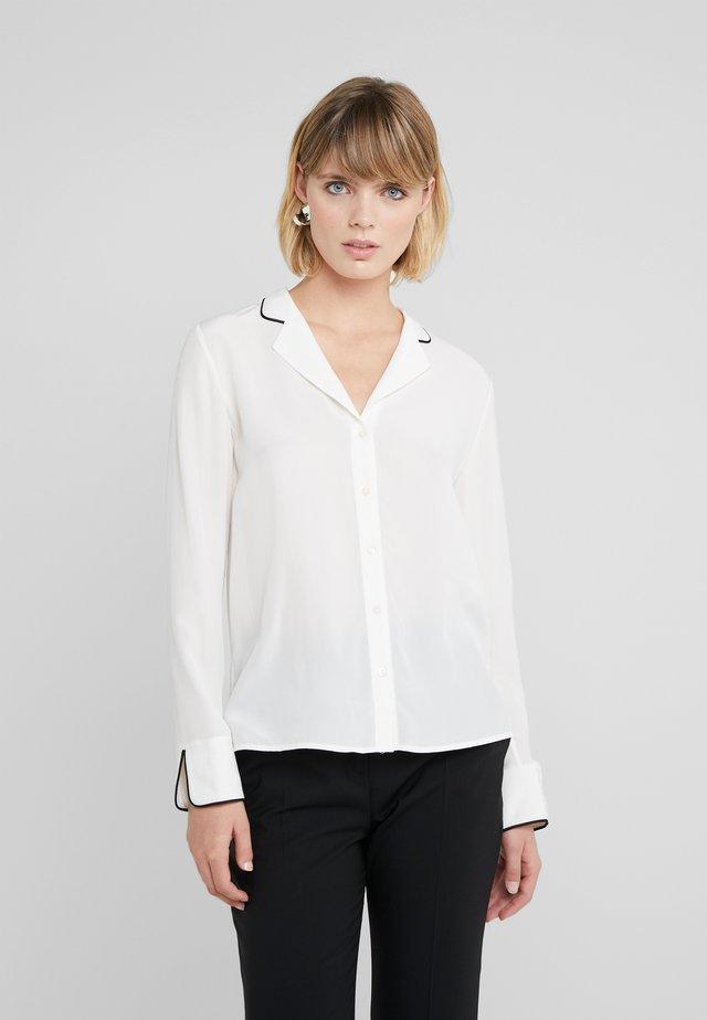 EMOLA - Button-down blouse - natural