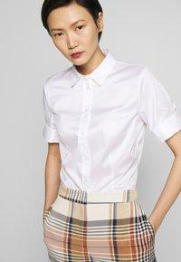 HUGO - ESHILA - Button-down blouse - white - 3