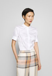 HUGO - ESHILA - Button-down blouse - white - 0