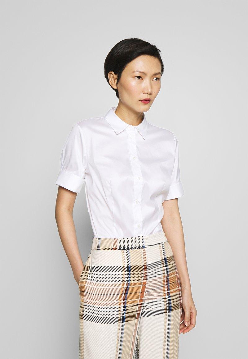 HUGO - ESHILA - Button-down blouse - white