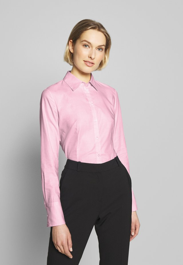 THE FITTED - Button-down blouse - bright pink