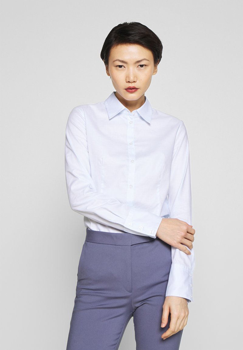 HUGO - THE FITTED - Camicia - light pastel blue