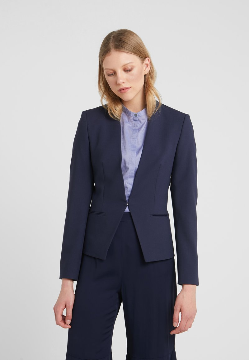 HUGO - ABINI - Blazer - open blue