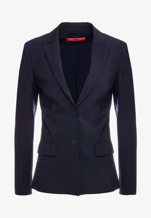 THE LONG JACKET - Blazere - navy