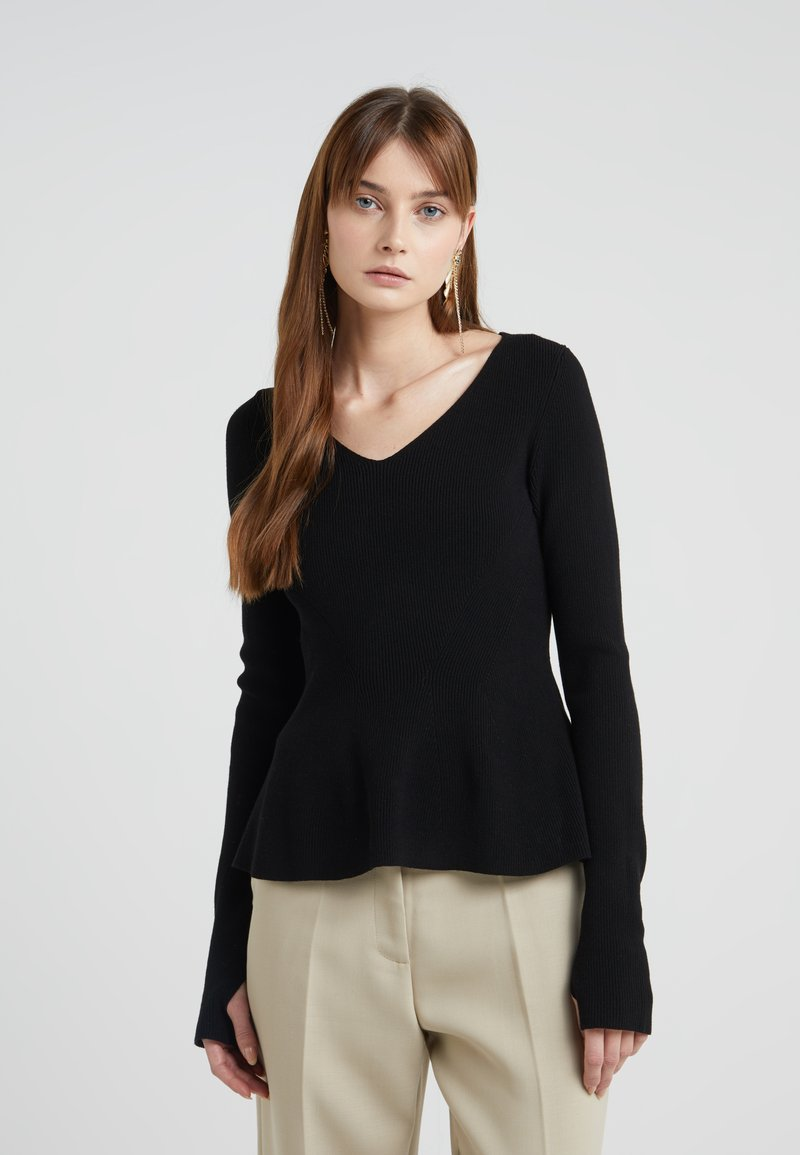 HUGO - SATINKY - Jumper - black
