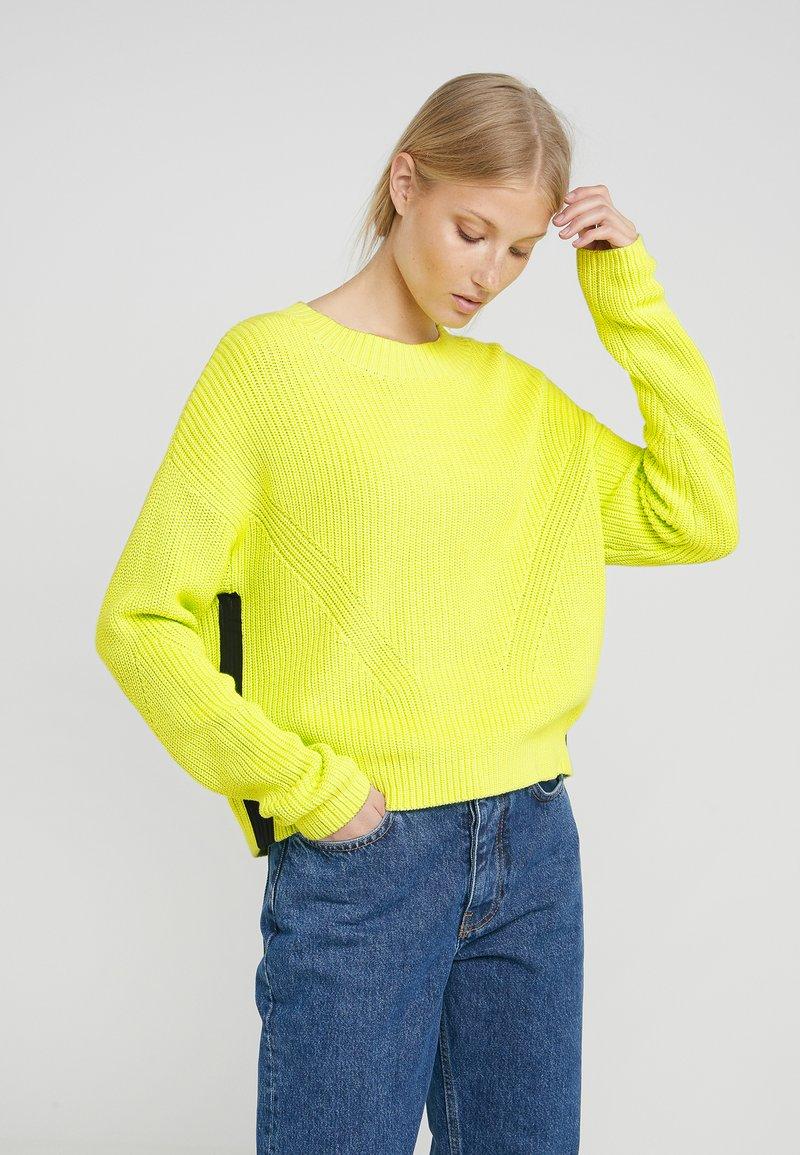 HUGO - SIDINA - Strickpullover - bright yellow
