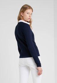 HUGO - SANDREY - Vest - open blue - 2