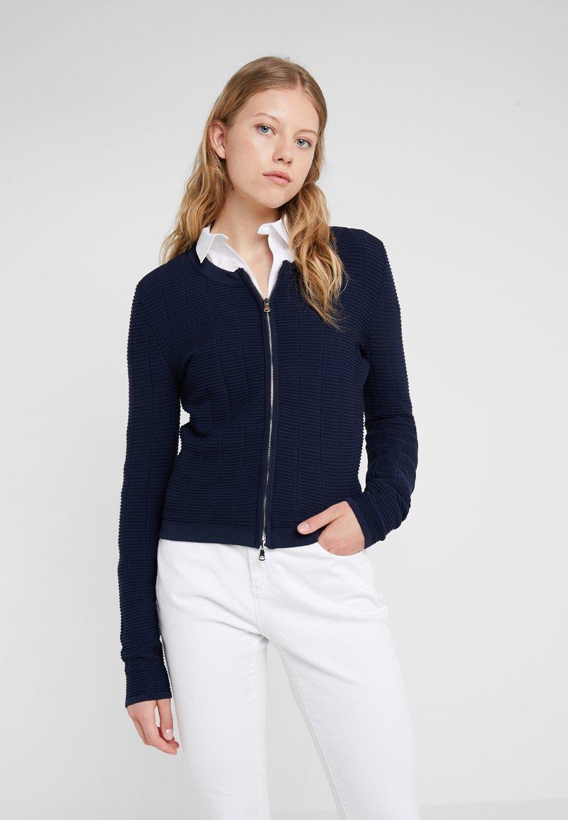 HUGO - SANDREY - Vest - open blue