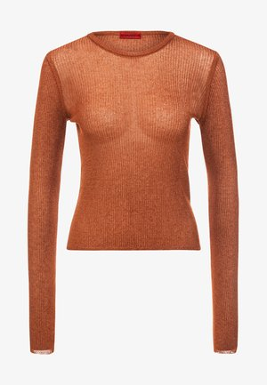 SMERALDY - Strickpullover - bright orange