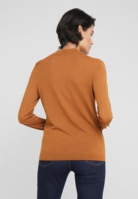 HUGO - SOTARY - Jumper - dark beige - 2