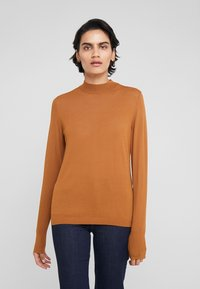 HUGO - SOTARY - Jumper - dark beige - 0