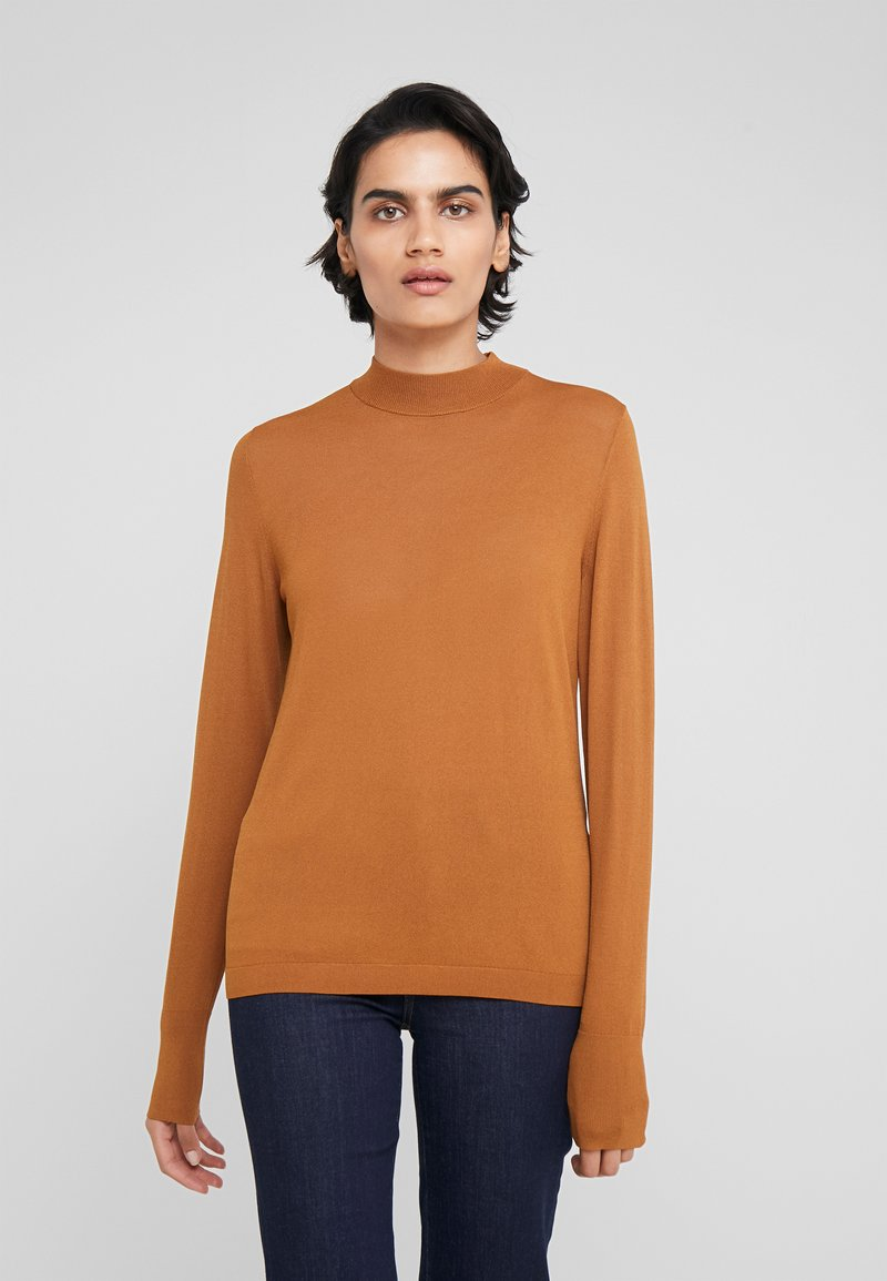 HUGO - SOTARY - Jumper - dark beige