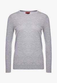 HUGO - SEDENNA - Pullover - medium grey - 4