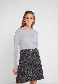 HUGO - SEDENNA - Pullover - medium grey - 0