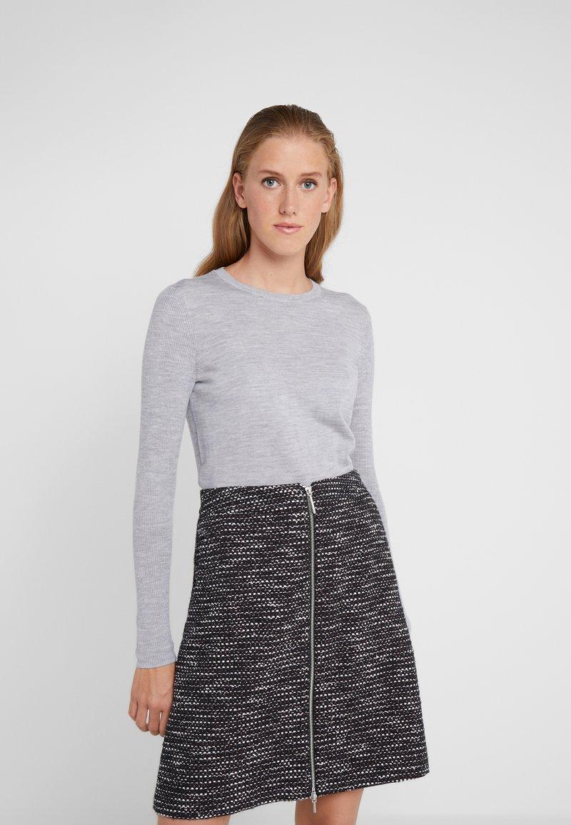 HUGO - SEDENNA - Pullover - medium grey