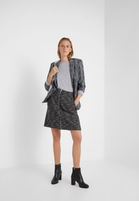 HUGO - SEDENNA - Pullover - medium grey - 1