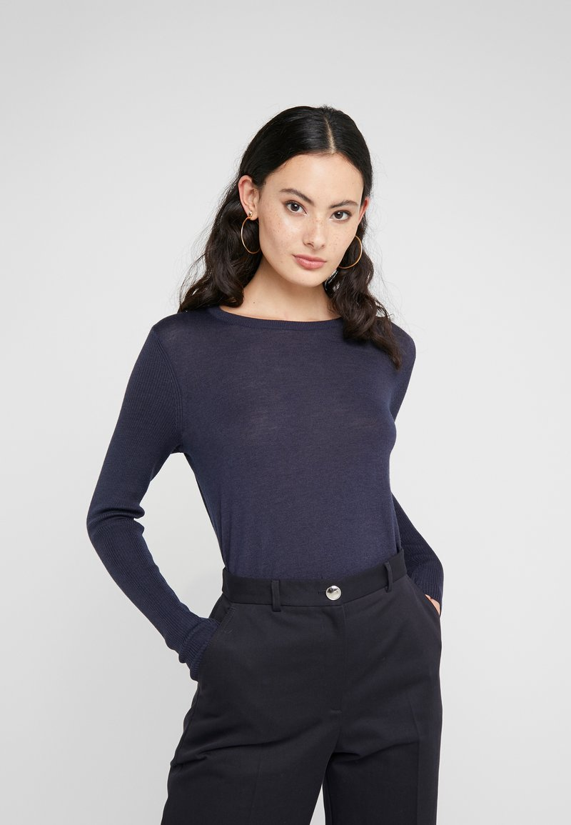 HUGO - SEDENNA - Jumper - dark blue