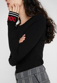 HUGO - SLOGGY - Neule - black - 3