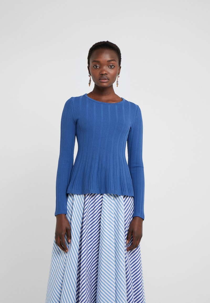 HUGO - SIERITA - Strickpullover - open blue