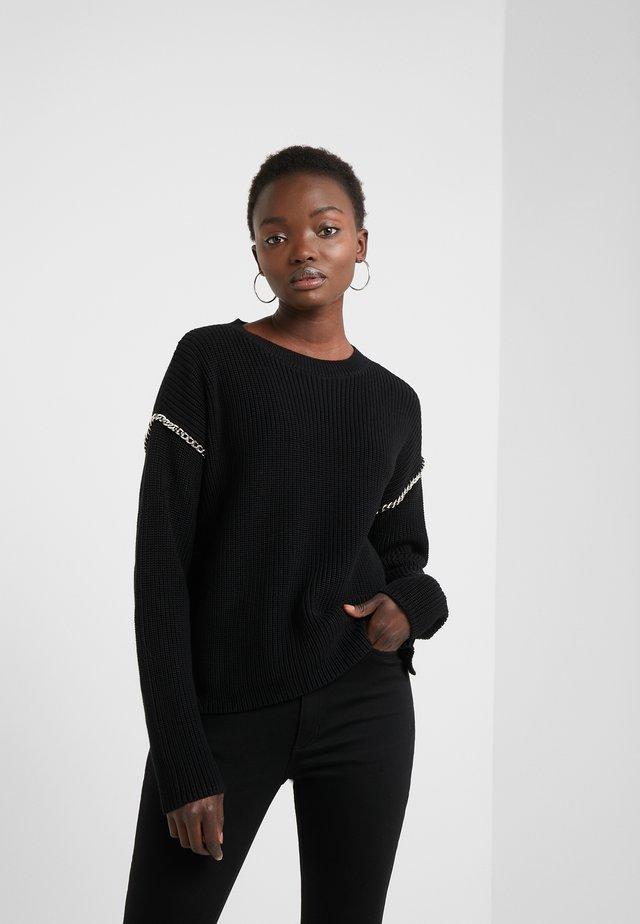 SHAINEY - Jersey de punto - black
