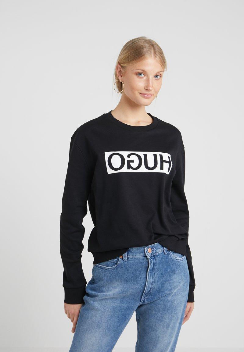 HUGO - NICCI - Sweatshirt - black