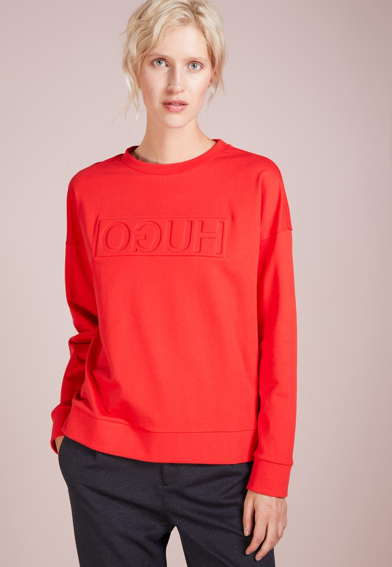 HUGO - NICCATA - Sweatshirt - medium red