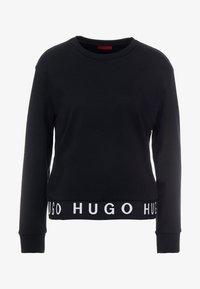 HUGO - NICCI - Top sdlouhým rukávem - black - 3