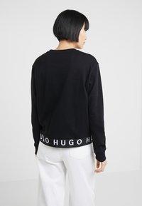 HUGO - NICCI - Top sdlouhým rukávem - black - 2