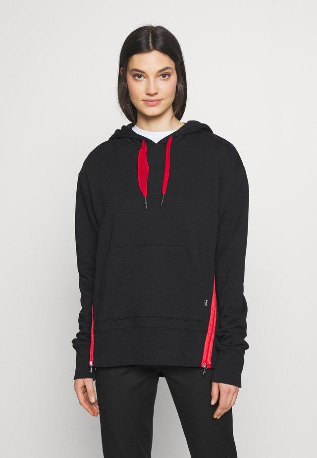 DREA - Jersey con capucha - black