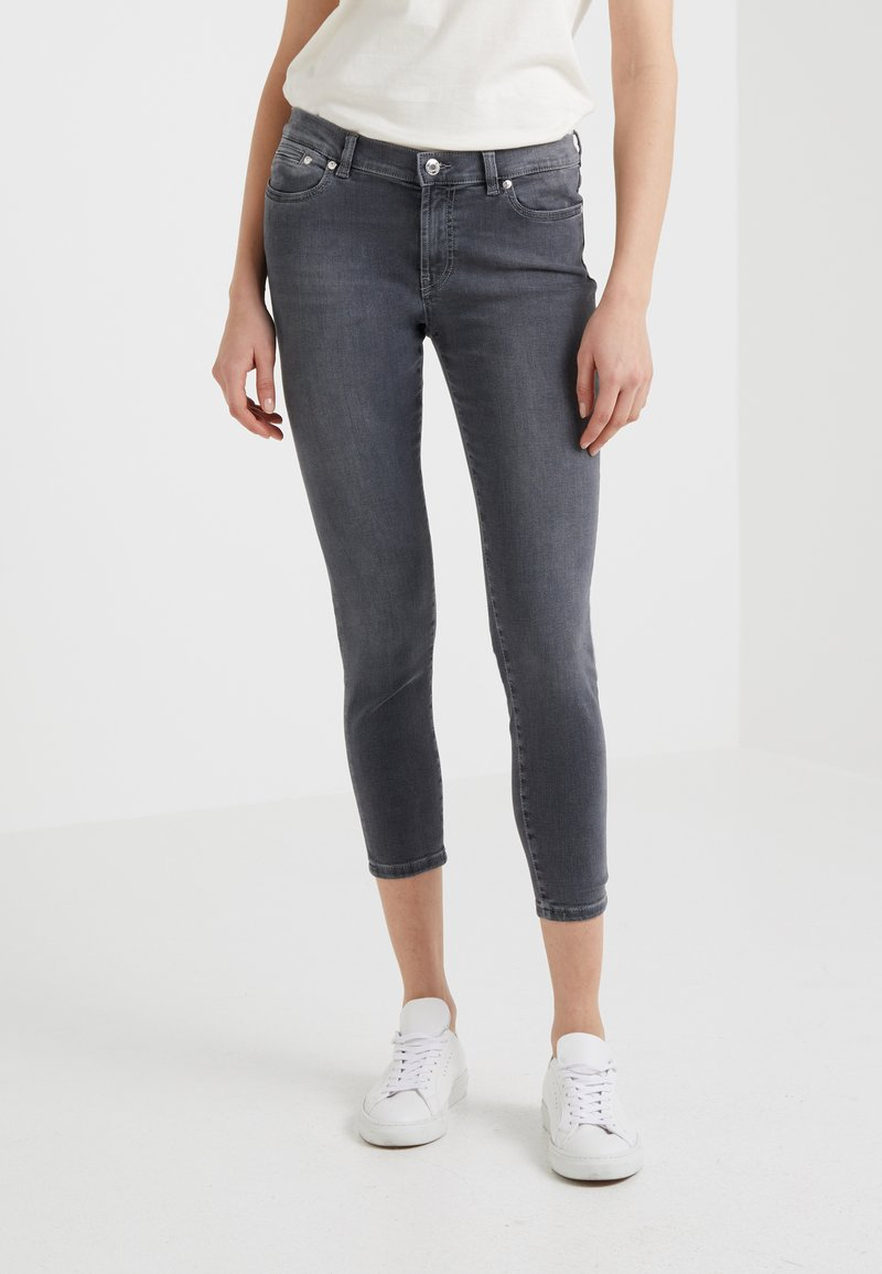 HUGO - GILLJANA - Jeans Skinny Fit - medium grey