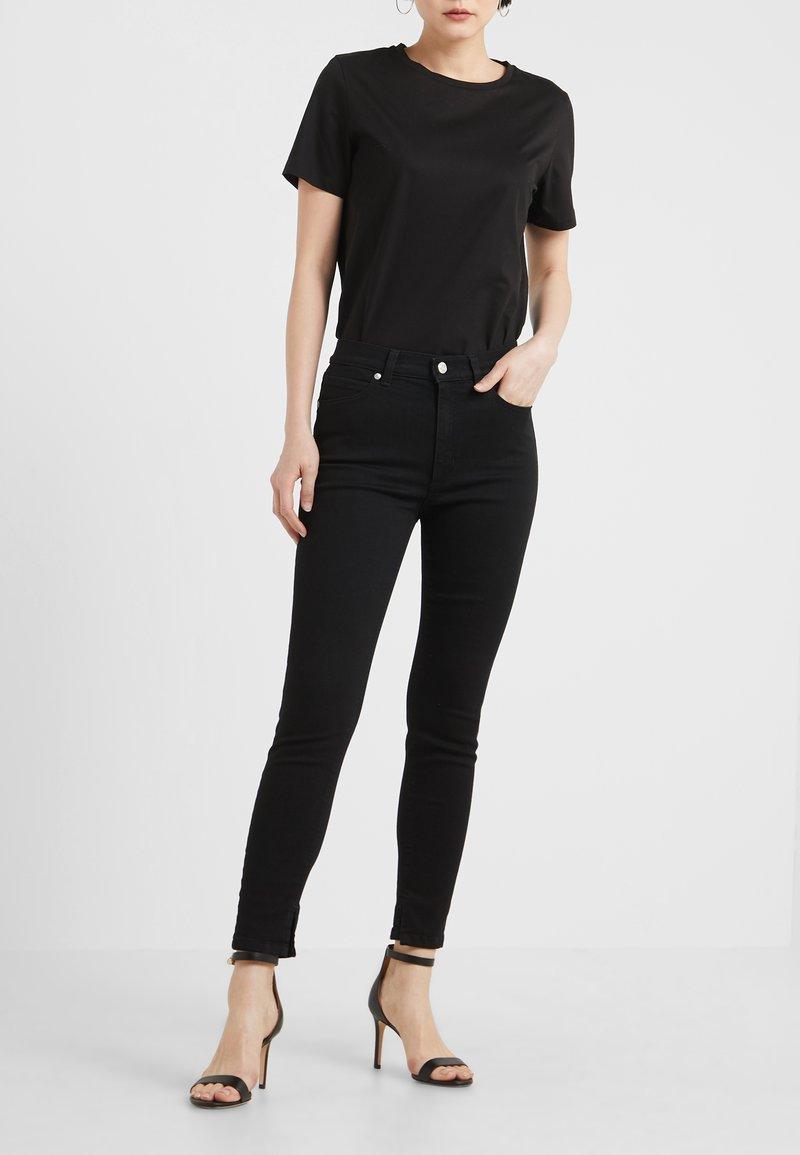 HUGO - GERNA - Jeans Skinny Fit - black