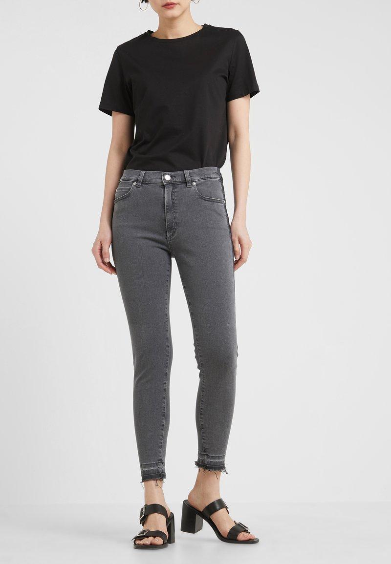 HUGO - GERNA - Jeans Skinny Fit - medium grey