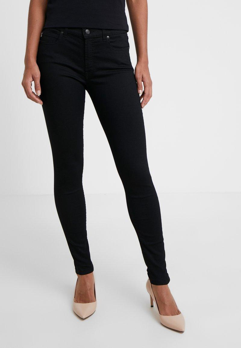 HUGO - CHARLIE - Jeans Skinny Fit - black